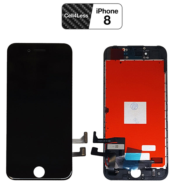 iPhone 8 BLACK LCD Screen Replacement (4.7 Inch) - CELL4LESS