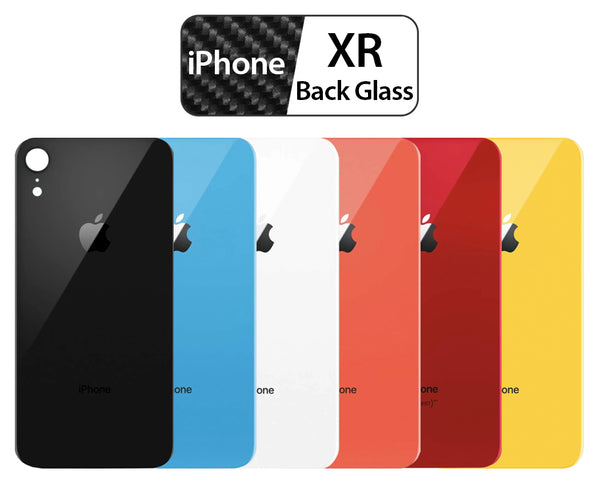 Apple iPhone XR Back Glass OEM Replacement Battery Door Cover - All Colors - CELL4LESS