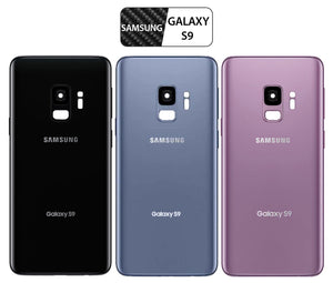 Samsung Galaxy S9 Back Glass Replacement with Camera Lens Installed - Removal Tool Included - G960