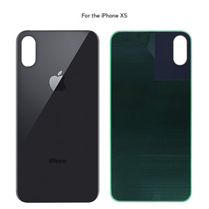 Apple iPhone XS Back Glass SPACE GRAY OEM Replacement Battery Door Cover - CELL4LESS