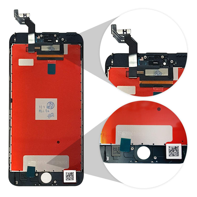 iPhone 6S PLUS BLACK LCD Screen Replacement (5.5 Inch) - CELL4LESS