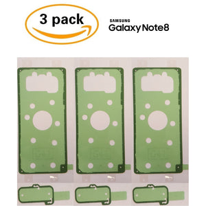 Adhesive (3 pack) for Back Glass Battery Door Replacement - Note 8 - CELL4LESS
