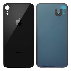 Apple iPhone XR Back Glass BLACK OEM Replacement Battery Door Cover - CELL4LESS