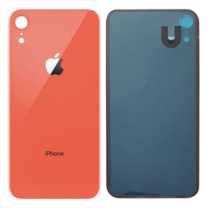Apple iPhone XR Back Glass CORAL OEM Replacement Battery Door Cover - CELL4LESS