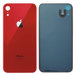 Apple iPhone XR Back Glass RED OEM Replacement Battery Door Cover - CELL4LESS