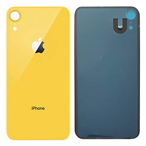 Apple iPhone XR Back Glass YELLOW OEM Replacement Battery Door Cover - CELL4LESS