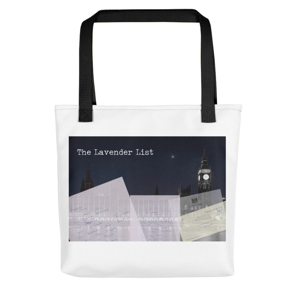 The Lavender List Tote bag