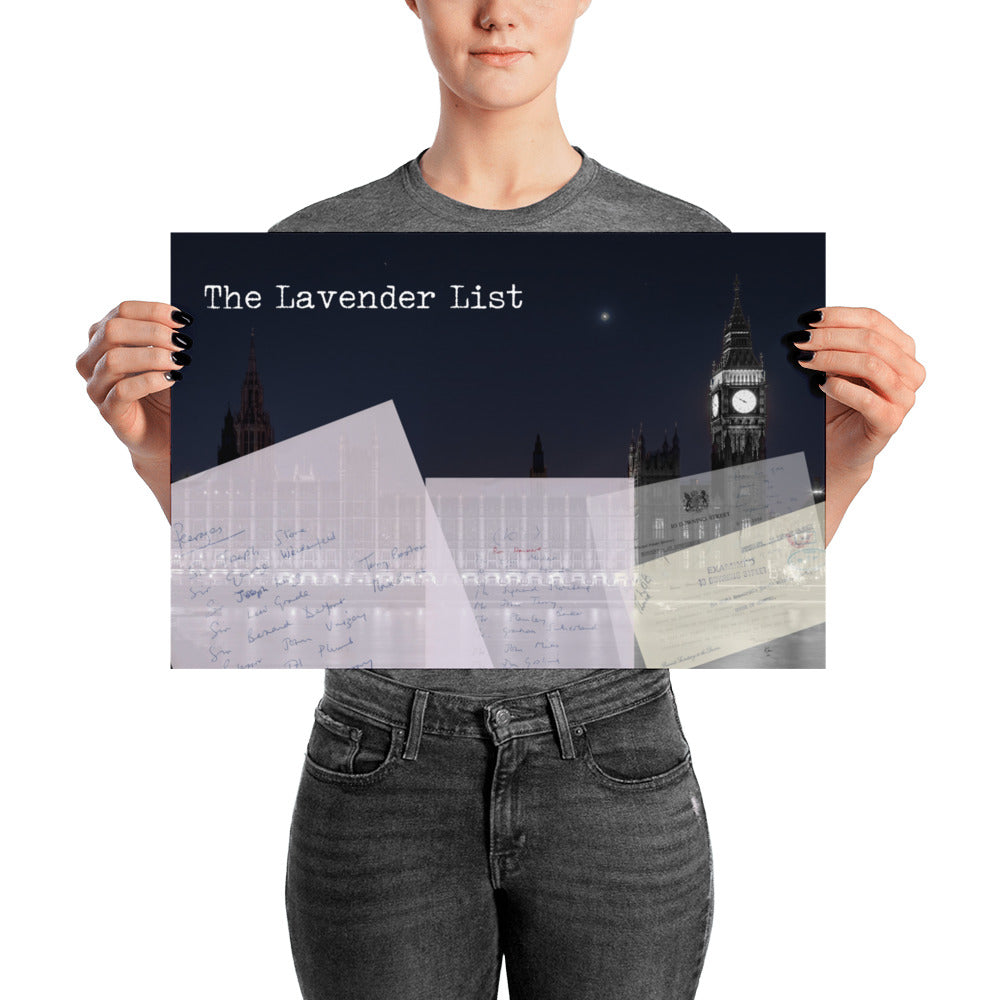 The Lavender List Poster