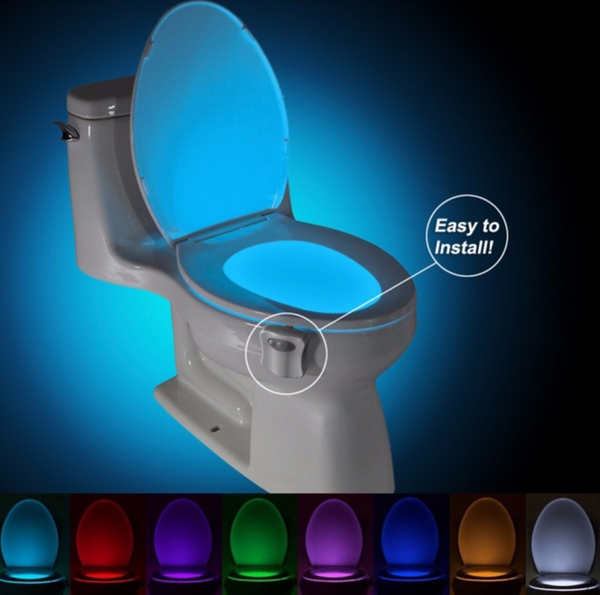 Toilet Light with Human Motion Sensor