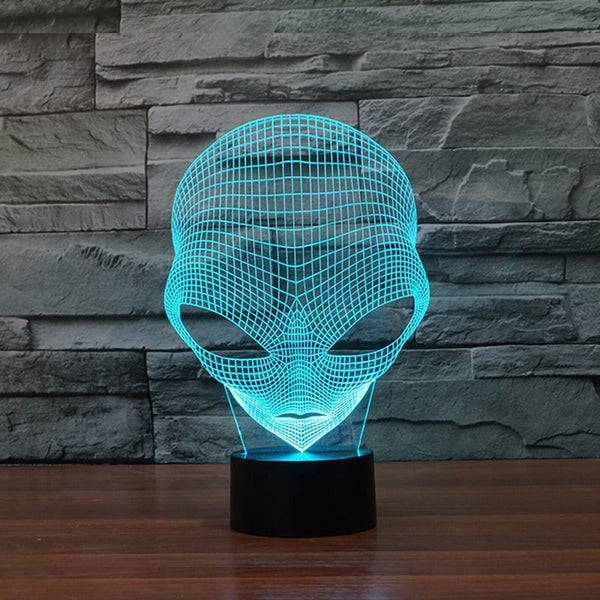 Pop-eyed Alien Hologram Light