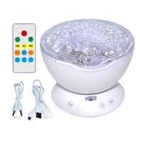 Remote Control LED Projector Light