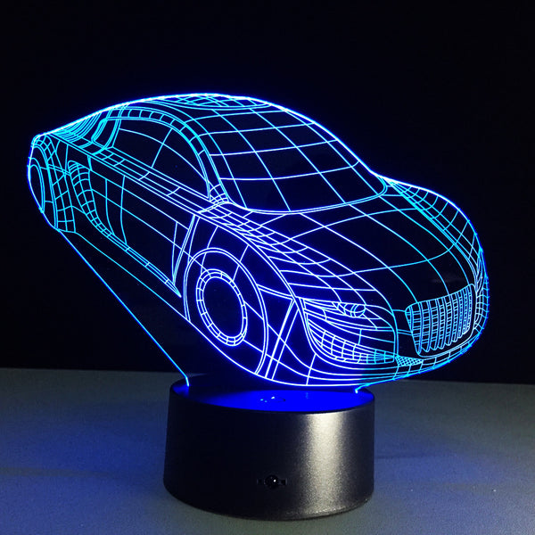Kids Night Lights Cool Car Remote Switch Night Light