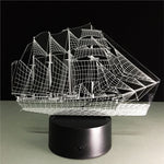 Kids Night Lights 3D Night Light Ship