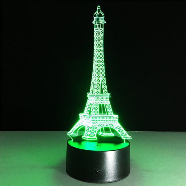 Night Light Eiffel Tower