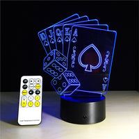 Night Light Poker Playing Cards