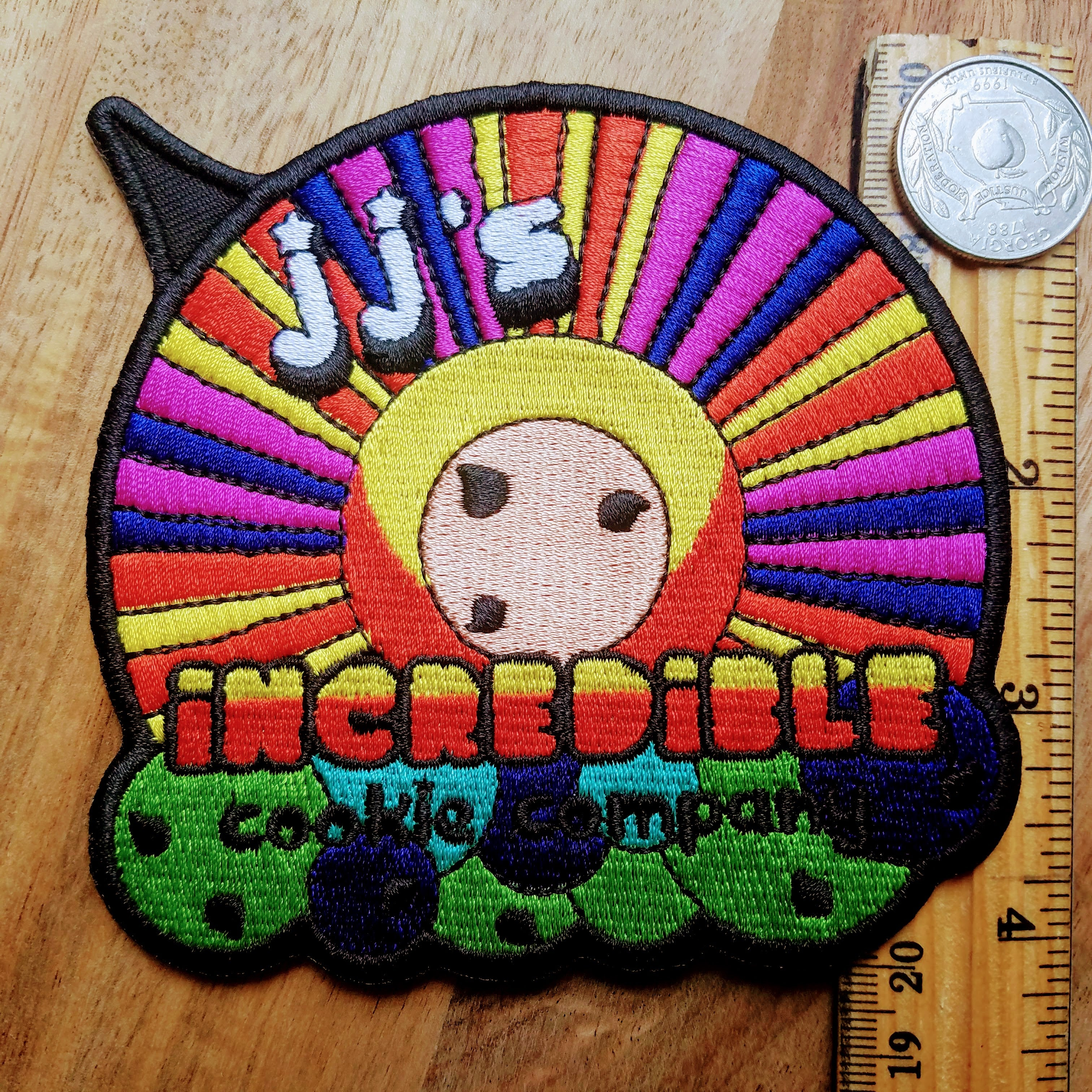 The Incredibles, Jack-Jack Cookie Company Inspired Iron-on Patch - Obscure Disney