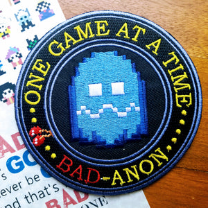 Wreck it Ralph Bad-Anon Inspired Patch - Obscure Disney
