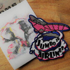 Jumbo Jr. Airlines Patch - Inspired by Disney's Dumbo - Obscure Disney