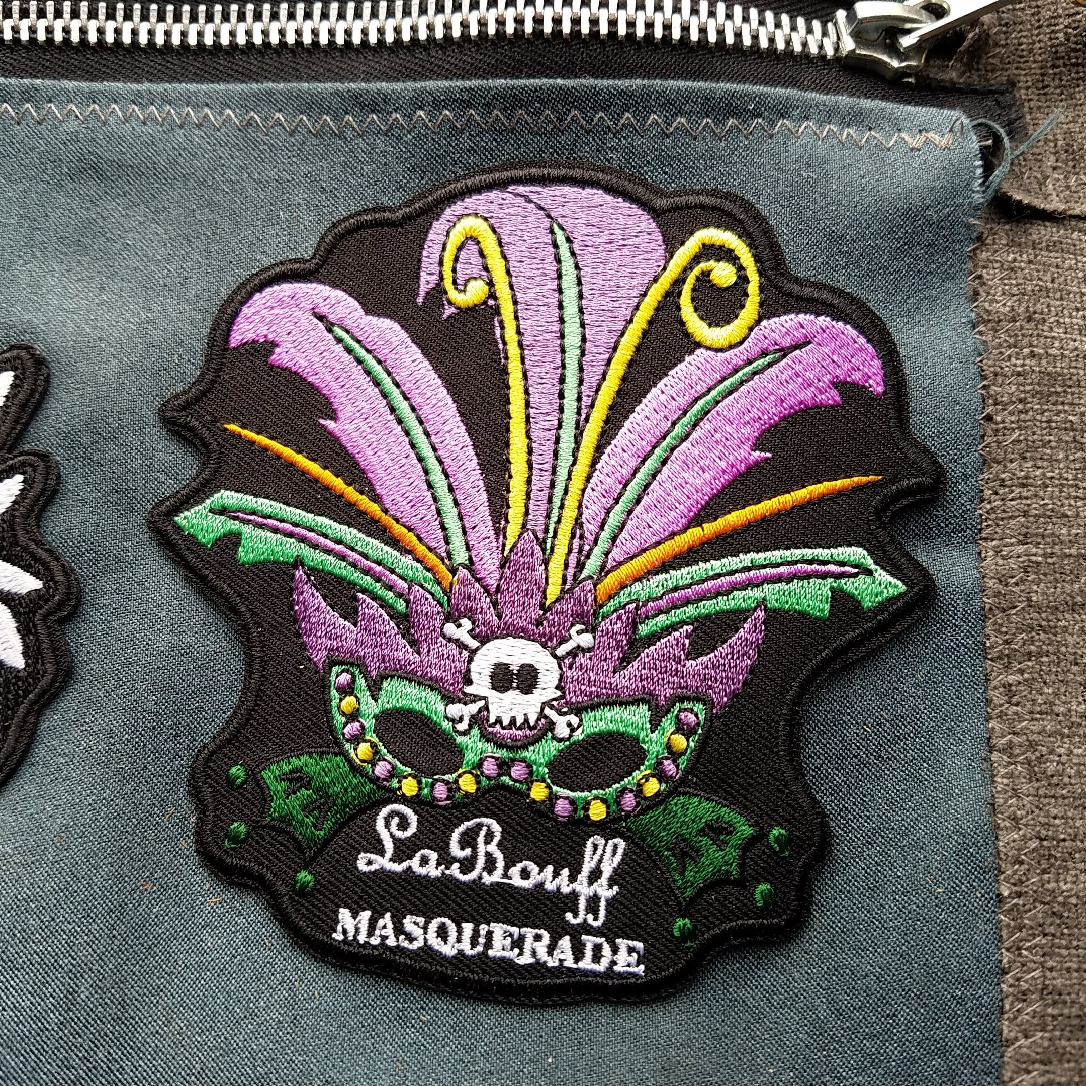 "Disney's Princess and the Frog inspired Patch - ""La Bouff Masquerade"" – February 2018 (Limited Edition) - Obscure Disney"