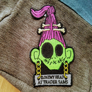 Trader Sam Iron-on Patch Inspired by Disney's Jungle Cruise - Obscure Disney