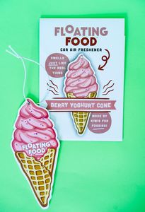 Box of 5 x Berry Yoghurt Cone (Wholesale)