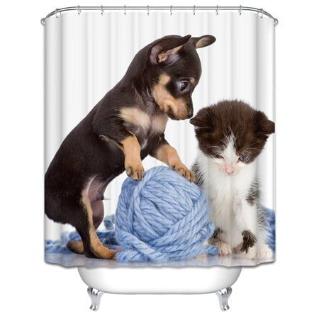 Fabulous Pet Shower Curtains