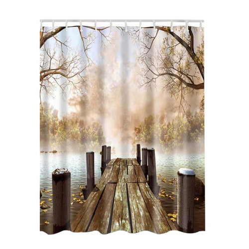 Beautiful, Peaceful, Scene Shower Curtains.