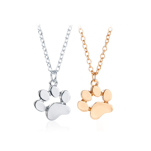 Paw Print Necklace in Honour of YOUR Faithful Friend.