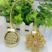 Flower Shaped Magnet Curtain Tieback