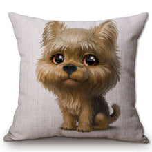 Cute Puppy Dogs Cushion Covers