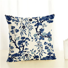 Porcelain Style Cushion Covers