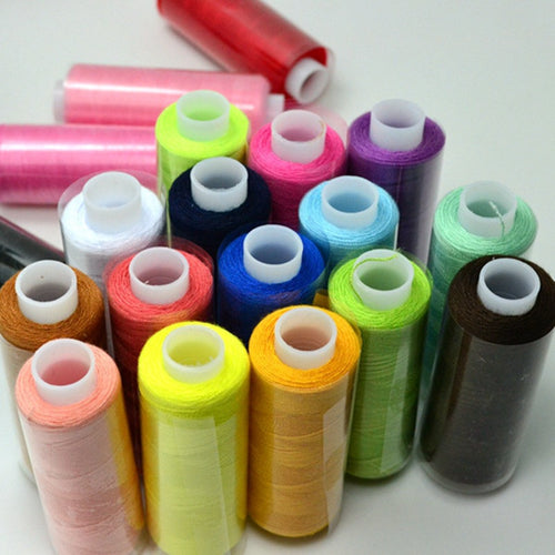 24  Mixed Colours All Purpose Thread