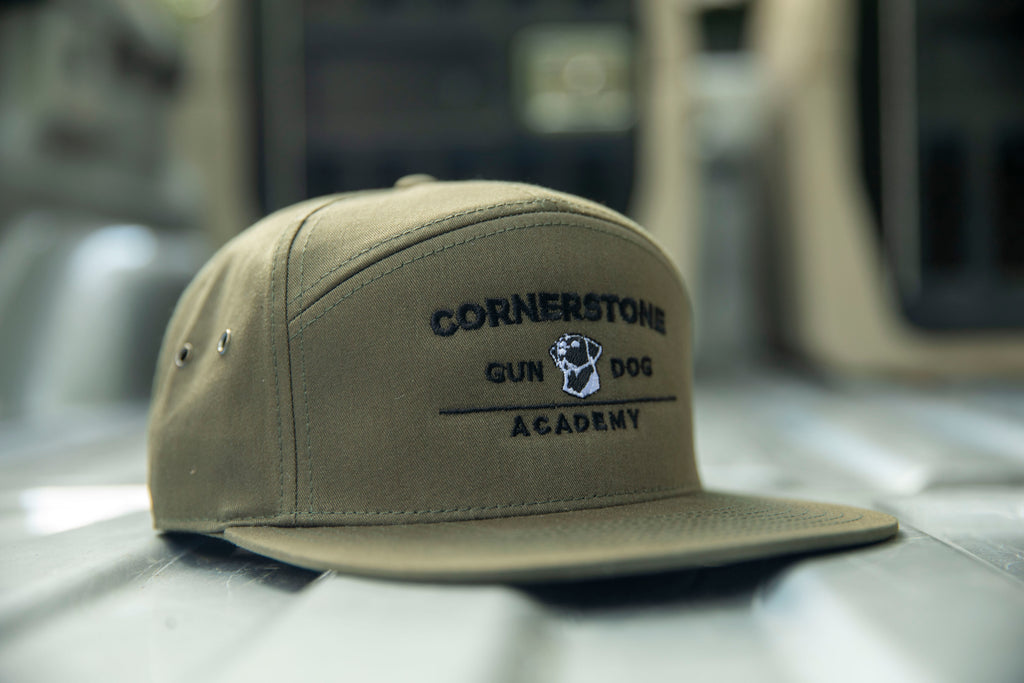 Cornerstone Gundog Academy 7-Panel Hat