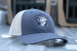 CGA Low Pro Trucker Cap White Logo