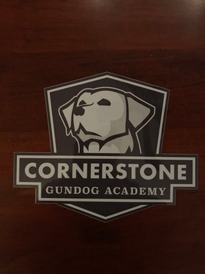Medium Cornerstone Gundog Academy Decal