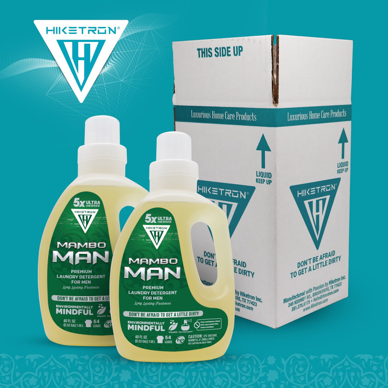 Hiketron Masculine Laundry Detergent