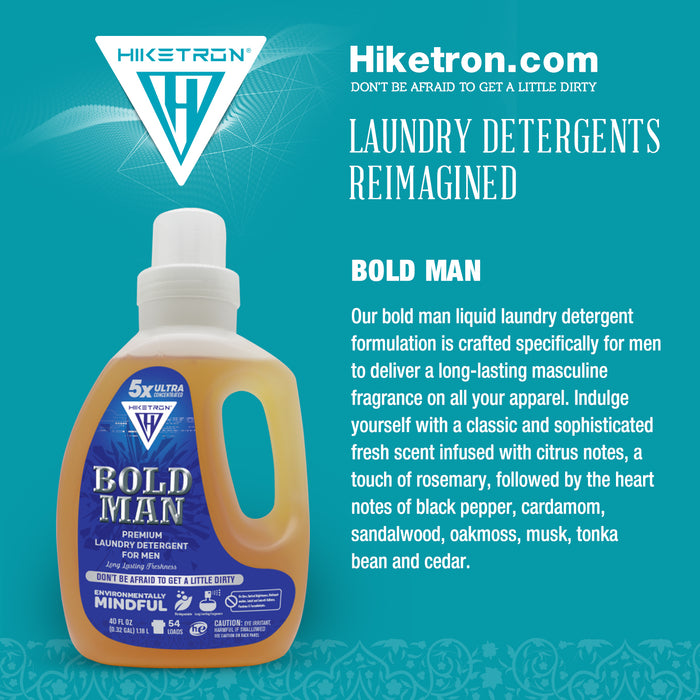 Bold Man Laundry Detergent