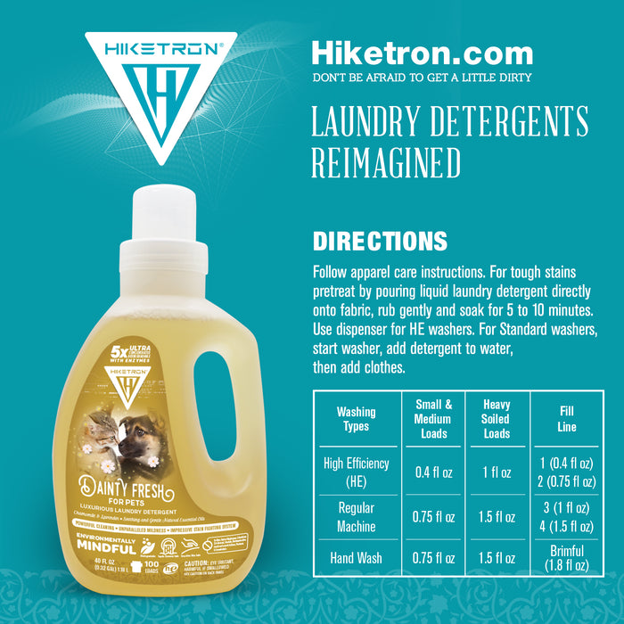 Dainty Fresh for Pets Laundry Detergent