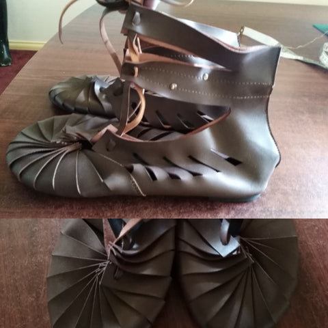 LARP Romanesque Shoes