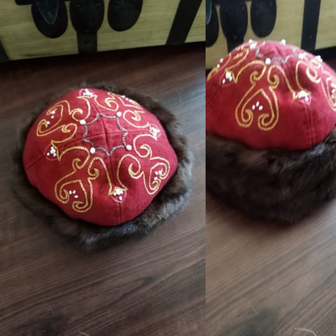 Valsgärde Inspired Embroidered Hat