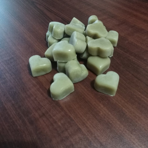 Beeswax Hearts