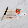 "6""x15"" Recipe Personalized Cutting Board 