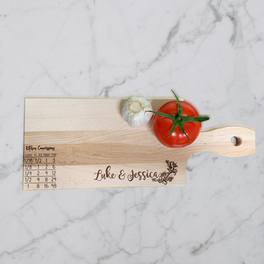 First Names Personalized Cutting Board | Maple Cutting Board