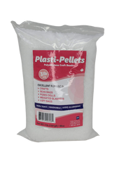 Plasti-Pellets - 3lb Bag, Weighted Stuffing Beads, Poly Beads, Craft Pellets, Resin