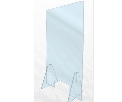 Acrylic Safe Guard With Stands