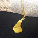 Barbados Gold Color Necklace - 1st Culture