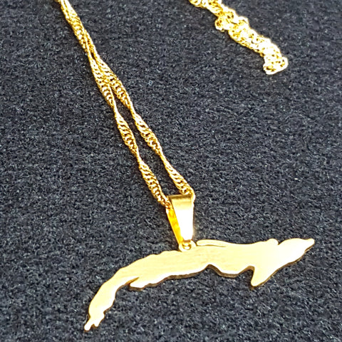 Cuba Gold Color Necklace - 1st Culture