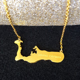 Cayman Islands Gold Color Necklace - 1st Culture