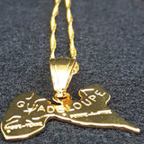 Guadeloupe Gold Color Necklace - 1st Culture