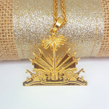 Haiti Emblem Necklace - 1st Culture